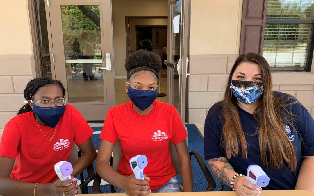 Volunteering at Florida Baptist Children's Home
