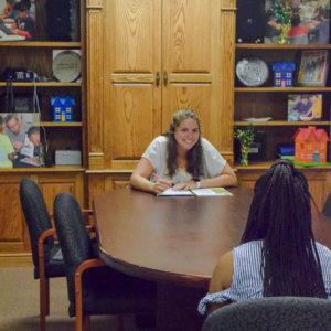 Mock interviews with Christine Strawbridge
