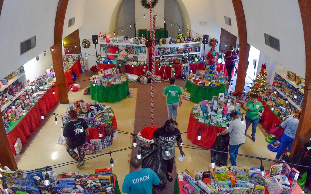 Neighborhood Christmas Store: Extra Work. Extra Special