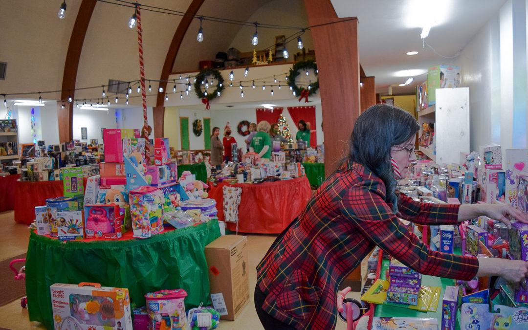 Christmas Store Transformation