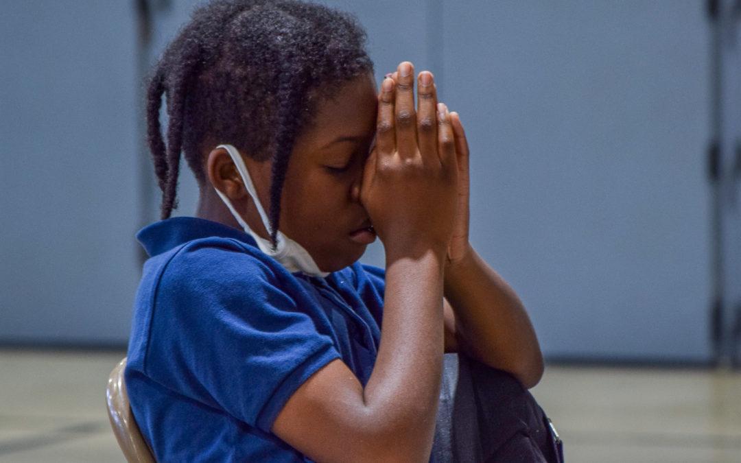 In the triumph of prayer