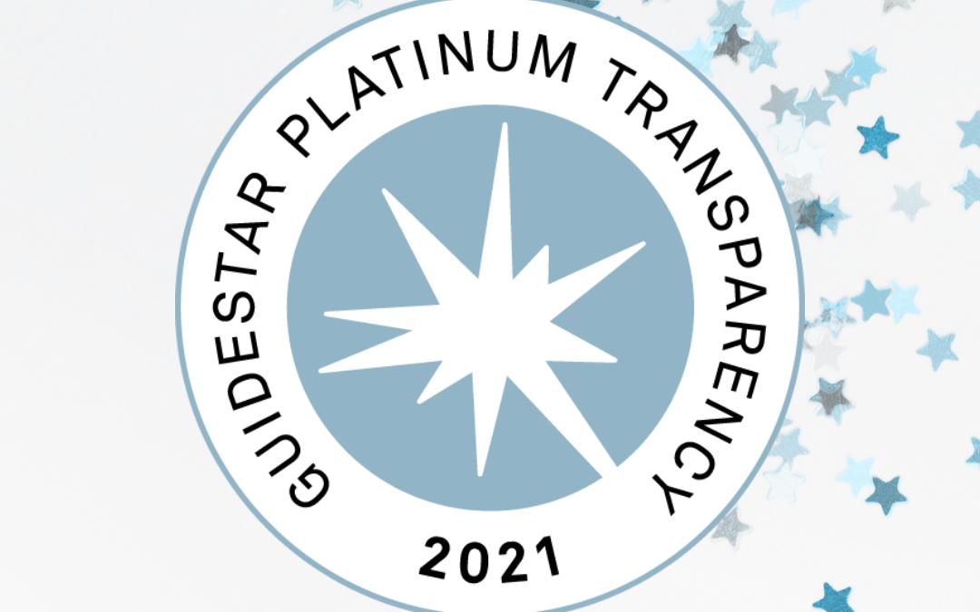 PSM Receives GuideStar Platinum Rating
