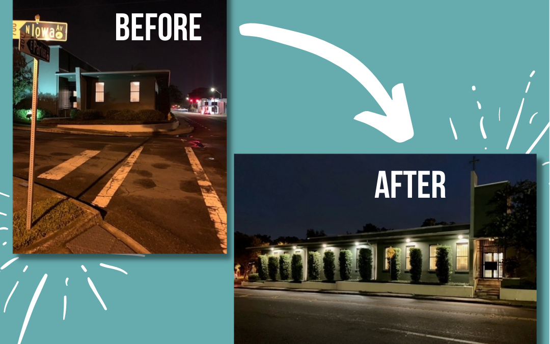 New Illuminated Sidewalks